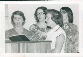 Singing Group from Birch River Church
