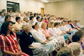 Audience at Women's Session - 2 photos