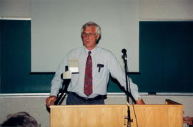 Dr. Don Thiessen, presenter