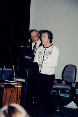 Bill and Mary Martens, Chortitzer conference workers with Continental Mission