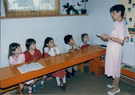 ?  teaching a Sunday School class