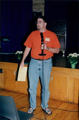 Gerald D. Reimer, conference youth minister