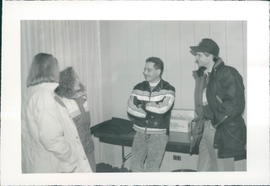 Ernie Koop with participants
