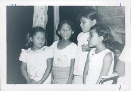 A group of San Jose children singing at the service. John & Connie Reimer report