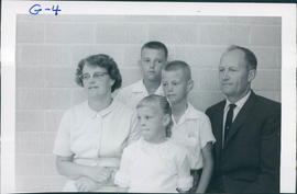Loretta and Abe Giesbrecht and family