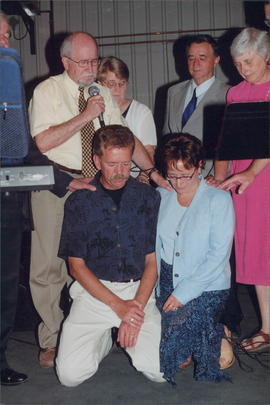 Commissioning of Peter and Trudy Dueck