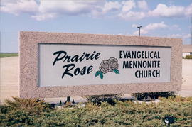 Prairie Rose EMC sign close up