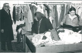 Used clothing department at the Drop-In Centre