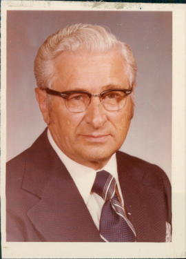 Three pictures of Dr. Henry Hildebrandt, President of Briercrest Bible Institute