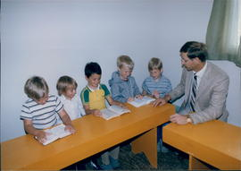 Reg Reimer and Sunday School Class