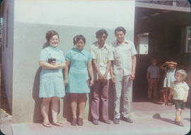 Hilda Friesen , left, with other Sunday School teachers at La Paz church
