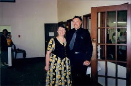 Marilynn and Gordon Foster at their ordination service as lay minister