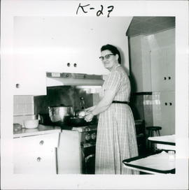 Mary Kornelson, second cook