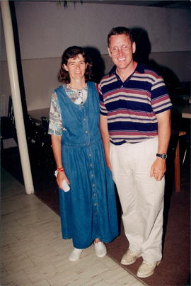 Laurel and Tim Schroder, missionaries to PNG
