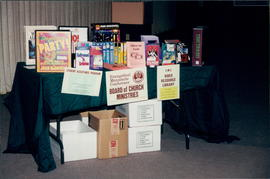 Board of Church Ministries display