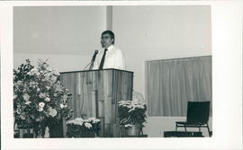 Conference Pastor, Edwin Friesen, was guest speaker