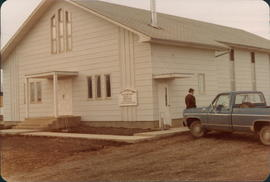 First building built by La Crete Christian Fellowship