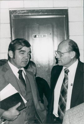 Harvey Plett and Henry Kornelson