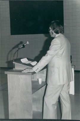 Unidentified speaker at conference