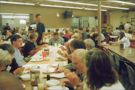 Worship Theology session over noon meal. Part of Conference Council