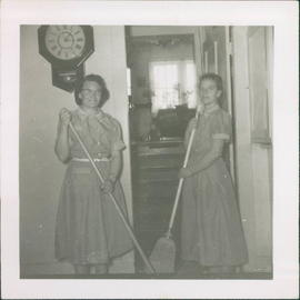 Cleaning staff:  Sarah Unger (Barkman) and Elma Barkman (Reimer).