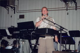 Danny Plett, musical missionary to Germany with Janz Team