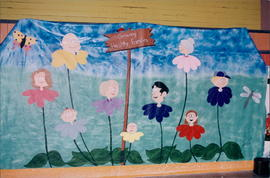 Artwork supporting convention theme of Growing Healthy Families