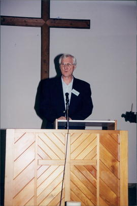 Rev. Don Thiessen, SBC professor