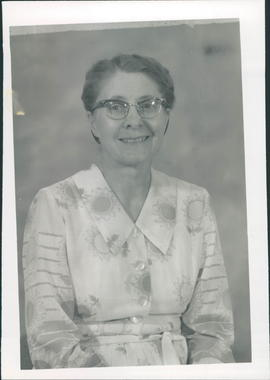 Justina Brandt, missionary to Mexico 1957-64