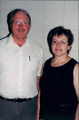 Harvey and Marion Engel, Cabri, Sask., coordinators for event