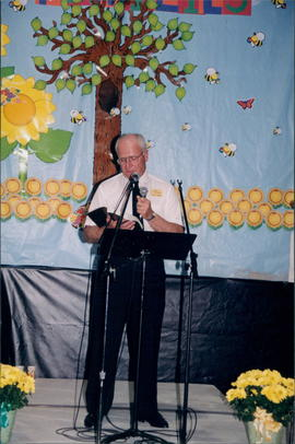 Leonard Barkman, pastor at Mount Salem, Ontario