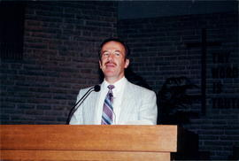 Al Friesen, one of the speakers