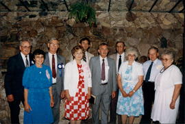 Arrangements Committee,L-R: John & Tina Toews, Dave Dueck, Myrtle & Melvin Reimer, Peter ...