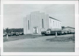 Picture of EMC church after addition (done in 1975) was completed