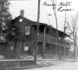 The home of Henry Hett from his arrival in Berlin