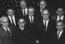 Mennonite Central Committee executive, 1970