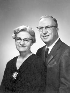 Henry and Edna Bowman in 1972.