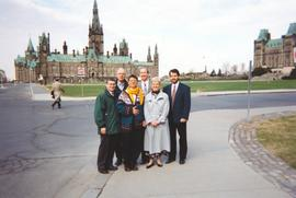 Conscience Canada group on Parliament Hill