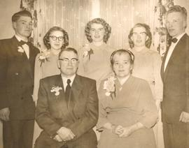 The Abram Duecks at their Silver Wedding