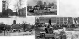 More of the  buildings that were torn down to