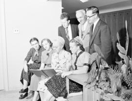 The faculty at Rockway Mennonite School in 1956