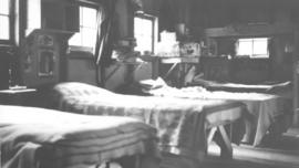 Interior of bunkhouse at Cowichan