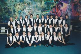 The Conrad Grebel College chapel choir at Behalt