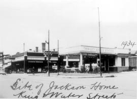 A gas station on the corner of King and Weber