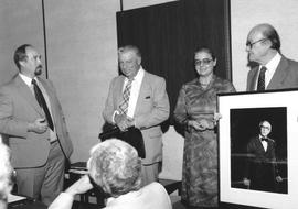Presentation of Fretz presidential portrait