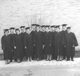 Canadian Mennonite Bible College graduates, 1965.