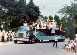 """Journey to Freedom"" float"
