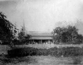Jonathan Baker homestead at Lot 11, Concession
