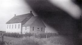 Unidentified church on the Canadian Prairie.