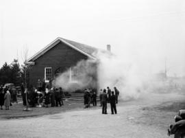 The first fire at Hagey Mennonite Church